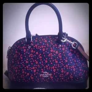 Coach Sierra mini leather satchel